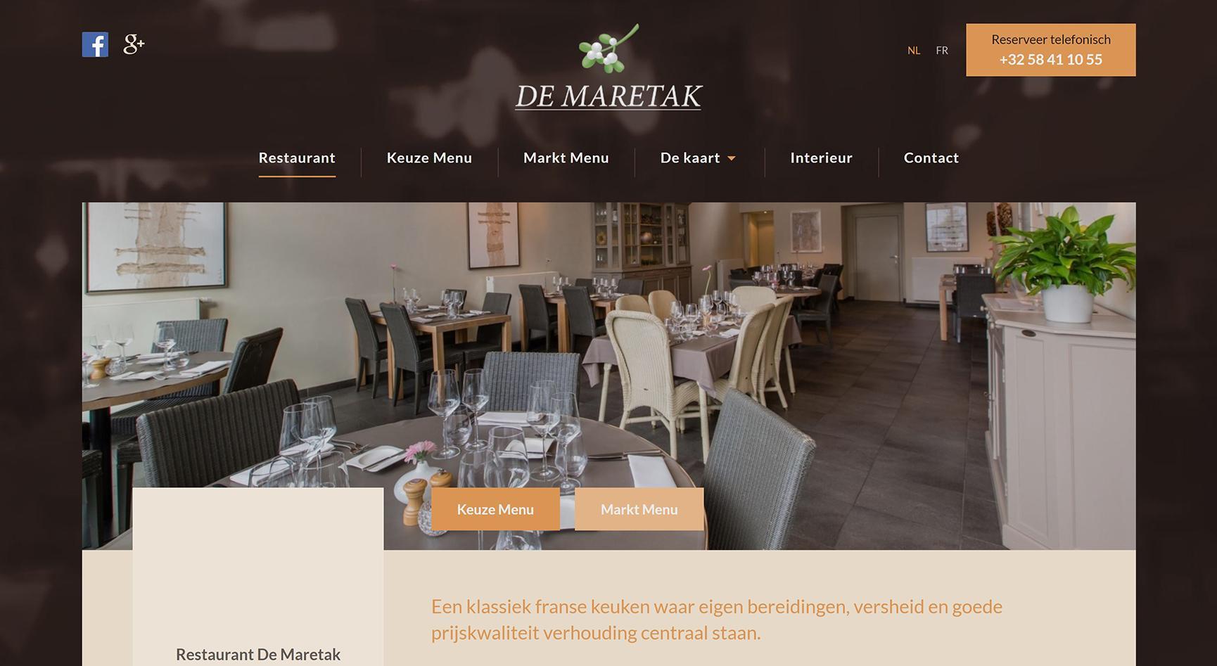 Restaurant De Maretak