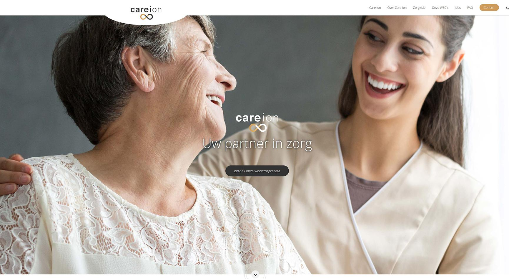 Care ion website by faromedia
